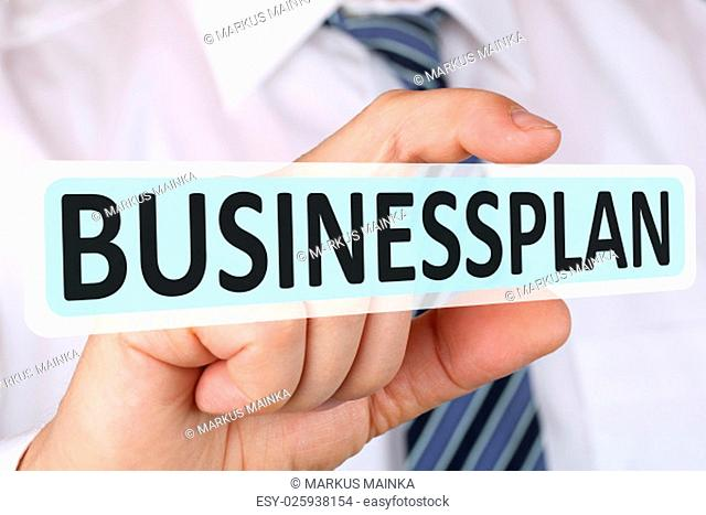 business plan concept with bisinessplan founding start-up companies company