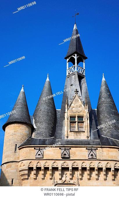 France, Aquitaine, Gironde, Bordeaux, Porte Cailhau