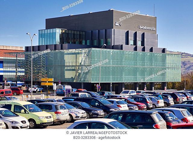 Biodonostia building, Medical Research Center, Hospital Donostia, San Sebastian, Gipuzkoa, Basque Country, Spain