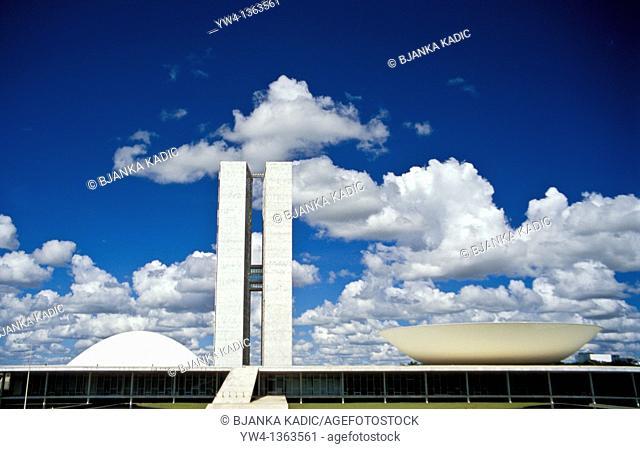 National Congress, Brasilia, Brazil