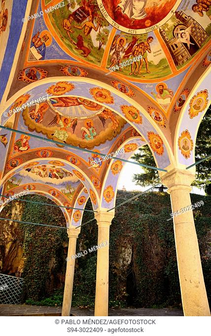 Mural paintings of Sokolsky monastery, near of Etar, Bulgaria