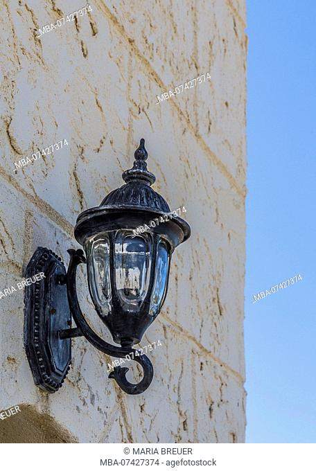 Lantern, Hotel Melia Las Dunas, 5 stars, Cayo Santa Maria, Villa Clara Province, Cuba, Republic of Cuba, Greater Antilles, Caribbean