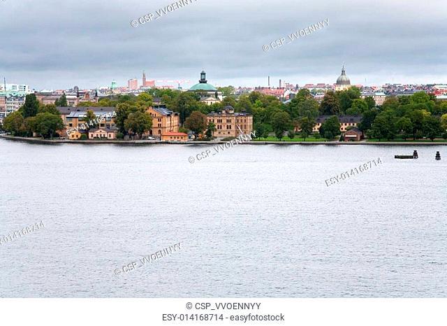 view on Kastellholmen island, Stockholm