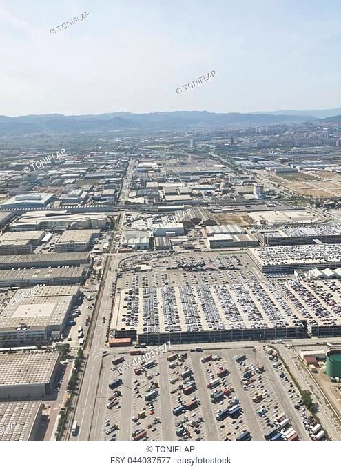 Port of Barcelona - logistics port area in Barcelona. Has more than 3,000 metres of berthing line