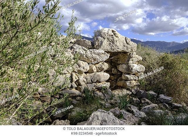 Talaiot, Son Ferrandell-Son Oleza, I milenio a C. , Valldemossa, Mallorca, Balearic islands, spain