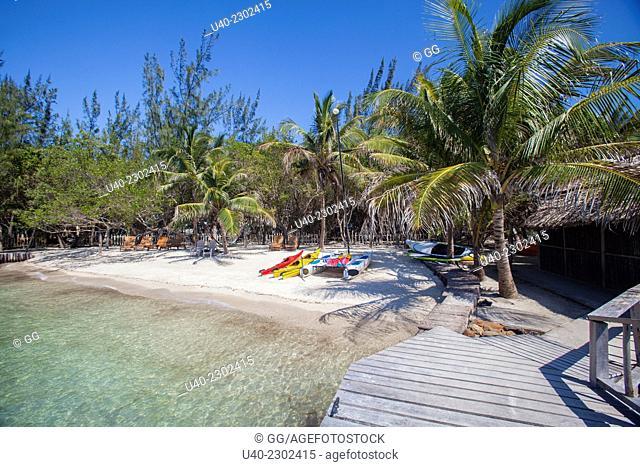 Belize, Thatch Caye