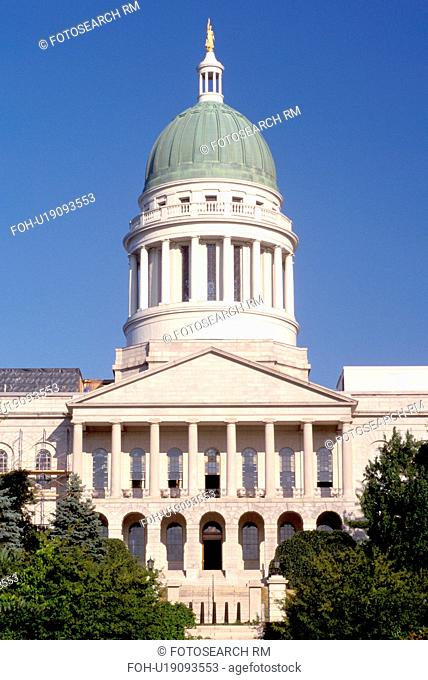 State Capitol, State House, Augusta, Maine, ME, The State House in Augusta