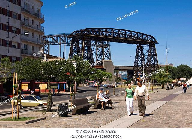 Bridge Puente Transbordador La Boca Buenos Aires Argentina