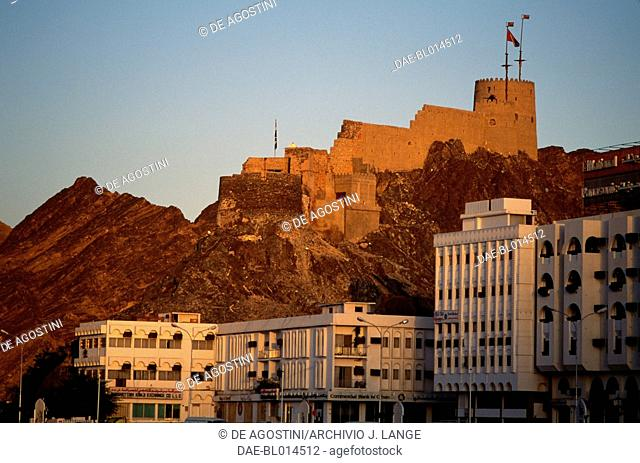 The Muttrah Fort, Oman