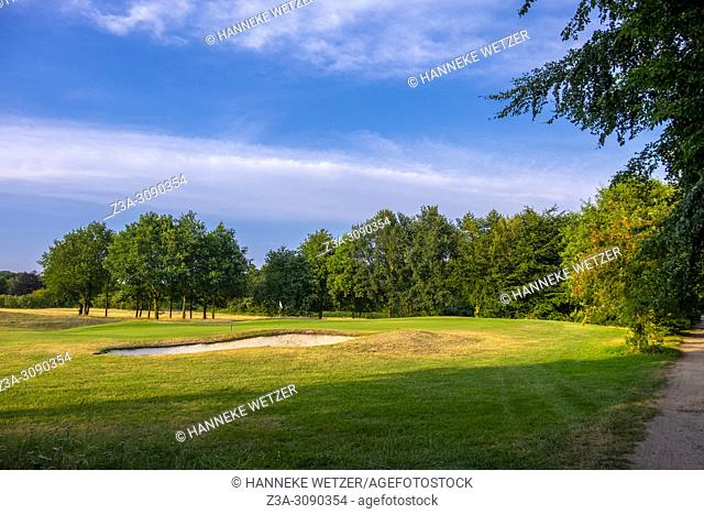 Golf terrain in Berg en Dal, Netherlands