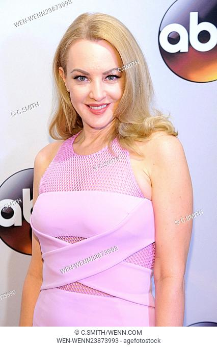 2016 ABC Upfront at David Geffen Hall Featuring: Wendy Anne McLendon-Covey Where: New York, New York, United States When: 18 May 2016 Credit: C