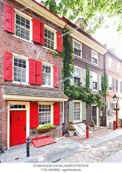 Elfreths Alley, Philadelphia