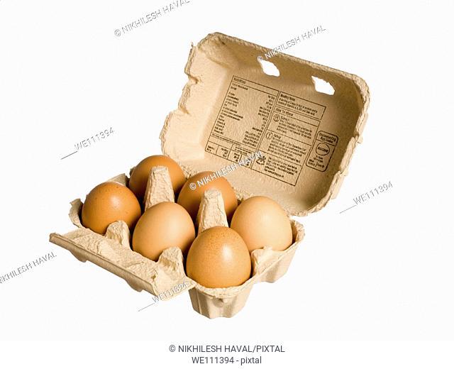 6 eggs crate