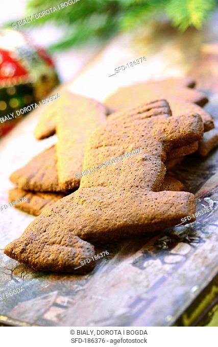 Almond Spekulatius Biscuits Stock Photos And Images Age Fotostock