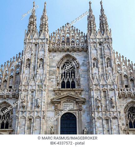 Milan Cathedral, Piazza del Duomo, Milan, Italy