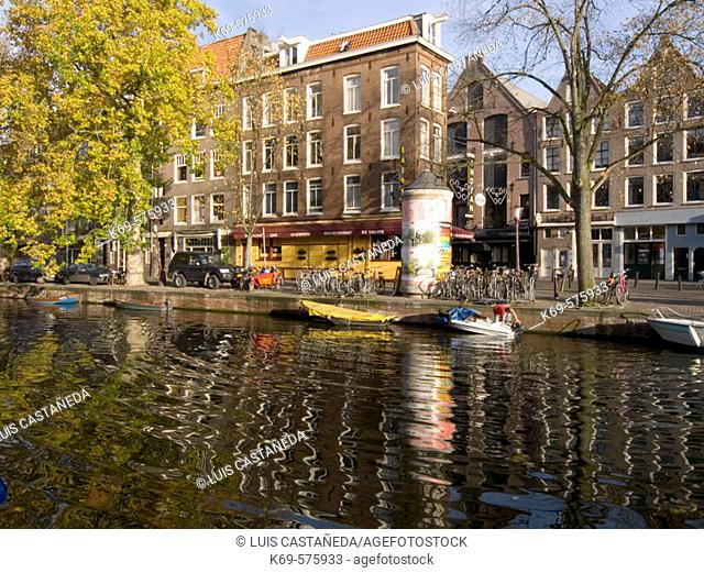 Lijnbaansgracht. Amsterdam. Netherlands
