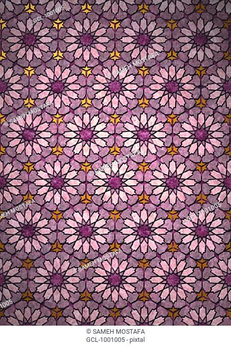 Arabesque background
