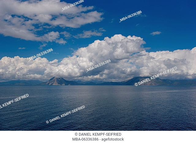 View on the Greek mainland