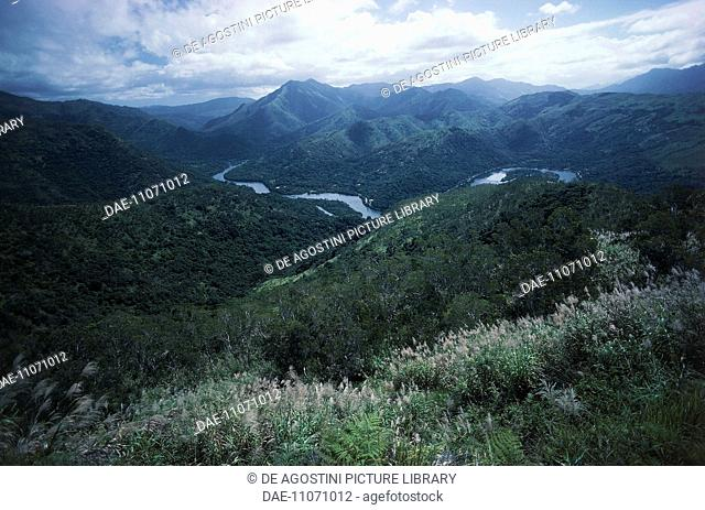The Diahot River valley, New Caledonia, French Overseas Collectivity, France