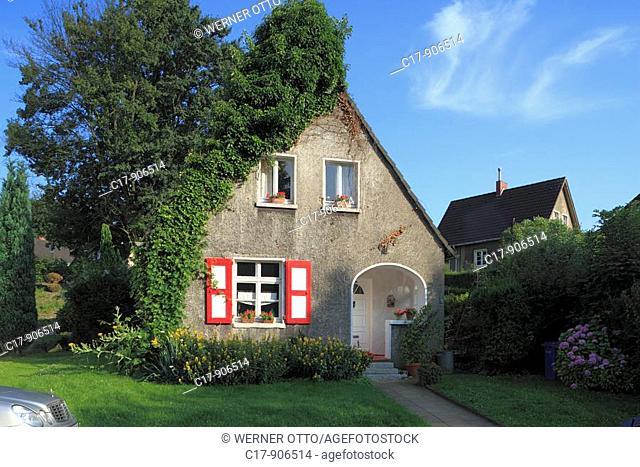 Germany, Essen, Ruhr area, North Rhine-Westphalia, Essen-Ruettenscheid, Friedrich Alfred Krupp, workmens dwellings, working-class housing estate