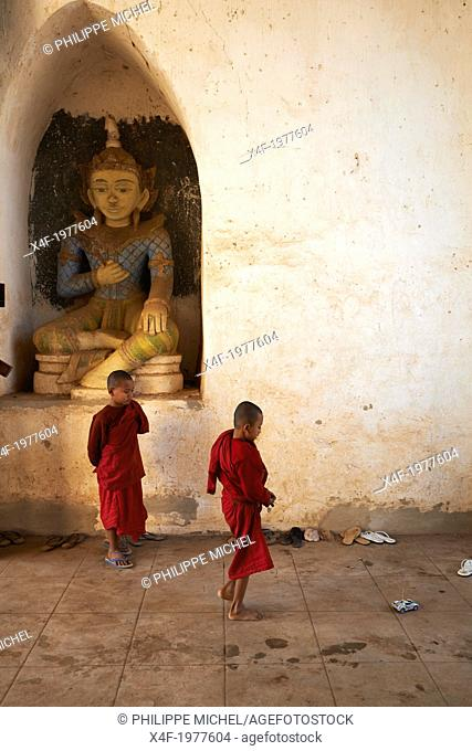 Myanmar (Burma), Mandalay Province, Pagan or Bagan, Patho Ananda temple, Unesco world heritage