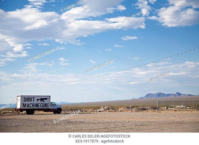 A place to shot, Arizona, USA