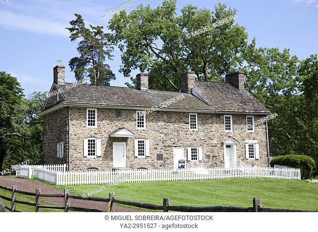Thompson-Neely House in New Hope Pennsylvania - USA