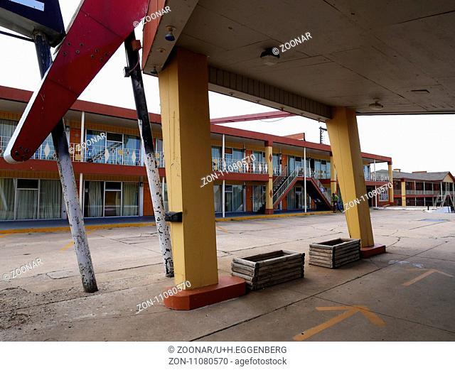 The Glancy Motel,Clinton,Oklahoma,Route 66