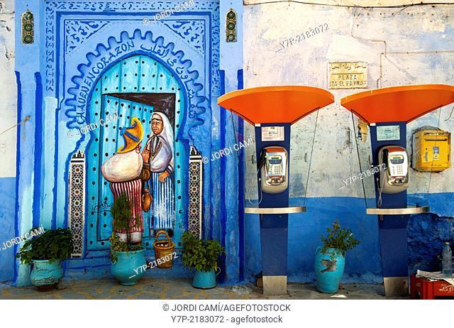 Chefchaouen, Rif region. Morocco.North Africa