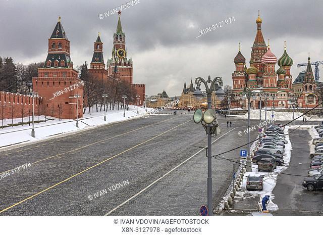 Tower of Kremlin, Kremlin, Moscow, Russia