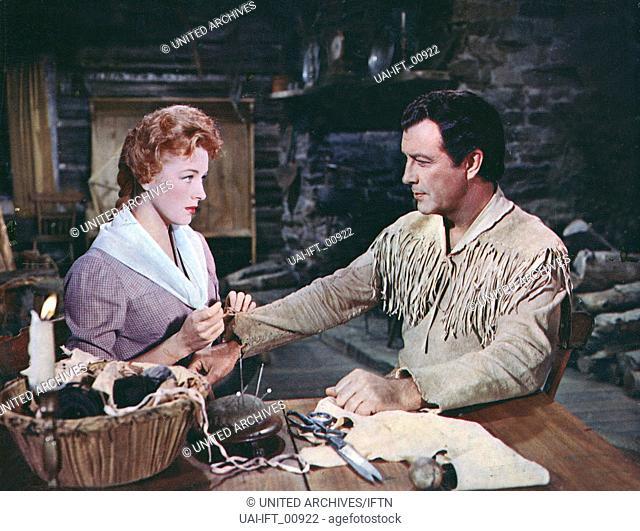 Many Rivers to Cross, USA 1955, aka: Ein Mann liebt gefährlich, Regie: Roy Rowland, Darsteller: Robert Taylor, Eleanor Parker