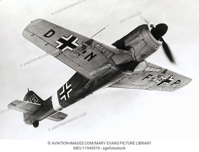 Luftwaffe FW-190G3 Flying