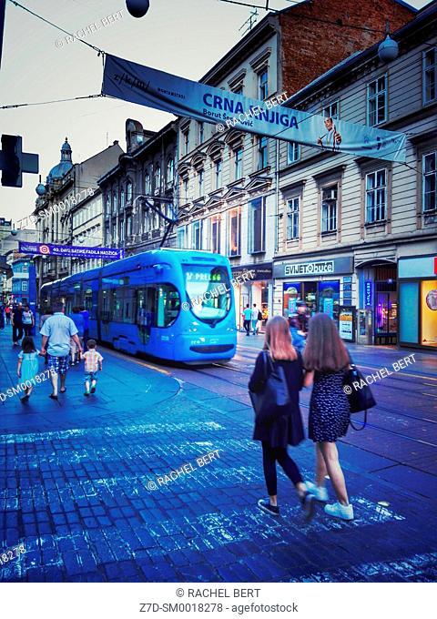 Ilica Street, Zagreb, Croatia