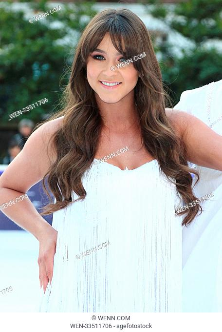 Dancing On Ice 2018 photocall at the Natural History Museum Ice Rink Featuring: Brooke Vincent Where: London, United Kingdom When: 19 Dec 2017 Credit: WENN