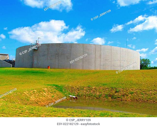 Biogas digester construction Stock Photos and Images | age fotostock