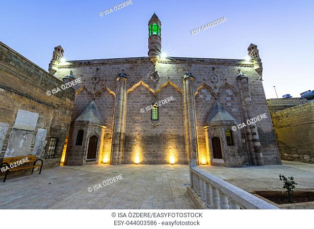 Now Firfirli mosque, before Armenian church;Germus Church or Surp Asdvadzadzin Church, is located in Sanliurfa,Turkey. 19 July 2018