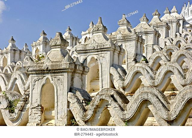 Hsin-byu-me-Pagoda at Mingun, Myanmar, Burma