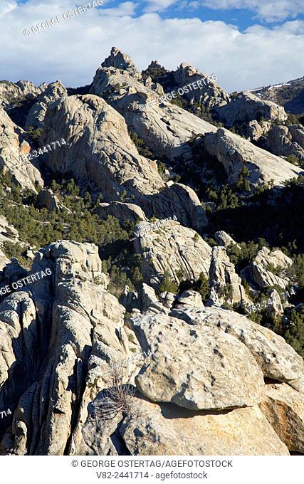 Granite outcrop, City of Rocks National Reserve, Idaho