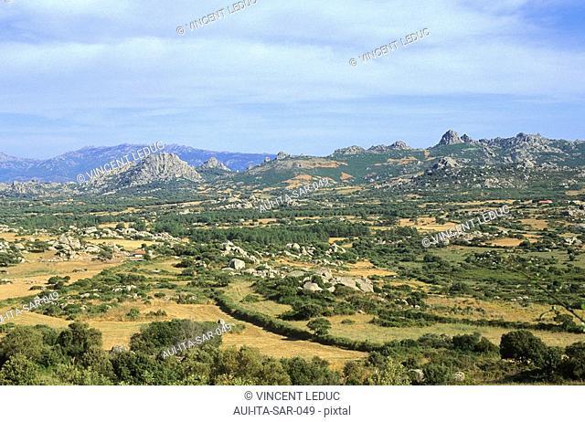 Italy - Sardinia - North Region - Aggius - Valley of the Luna