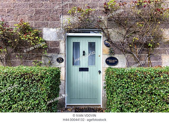 Vintage house, Abernethy, Perth and Kinross, Scotland, UK