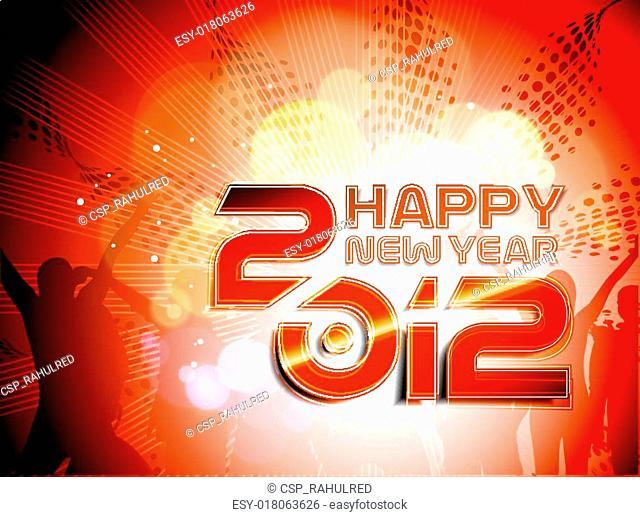 New year 2012 music