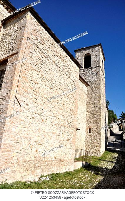 Verucchio (Rimini, Italy): the former convent of Sant'Agostino