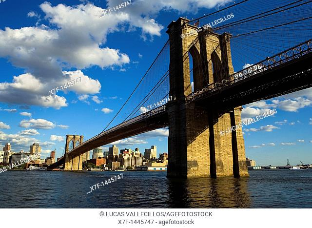 Brooklyn bridge,New York City, USA