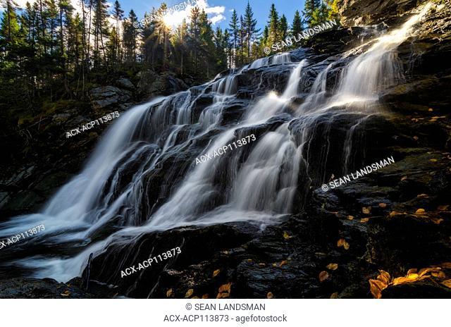 Laverty Falls, Fundy National Park, Alma, New Brunswick, Canada, waterfall