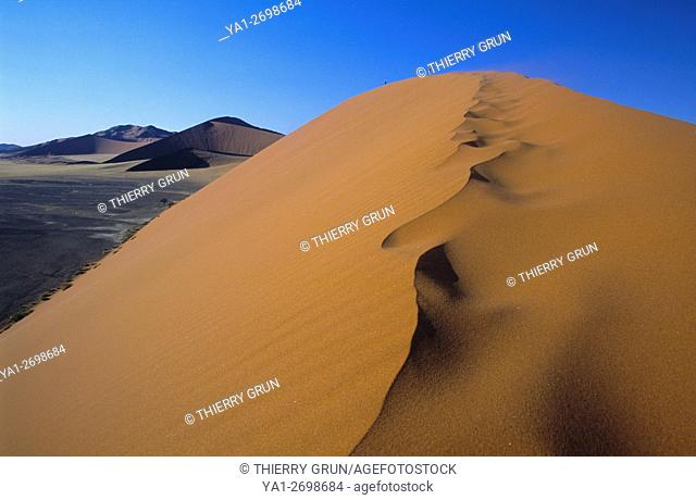Namibia, Namib-Naukluft National park, Sesriem, viewed from Dune 45
