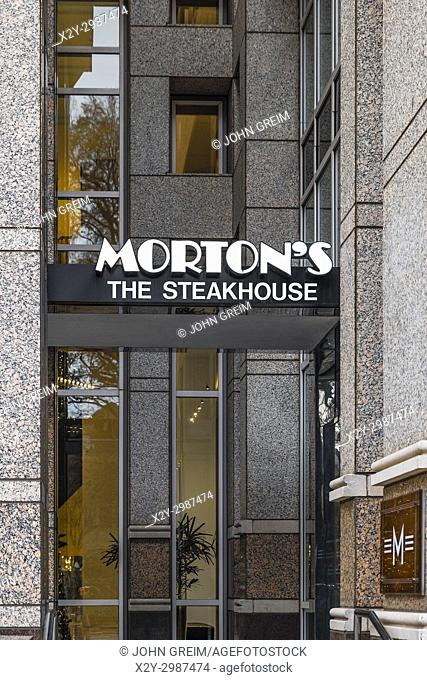 Morton's SteakHouse, Charlotte, North Carolina, USA