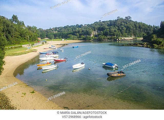 Ria. Niembro, Asturias, Spain