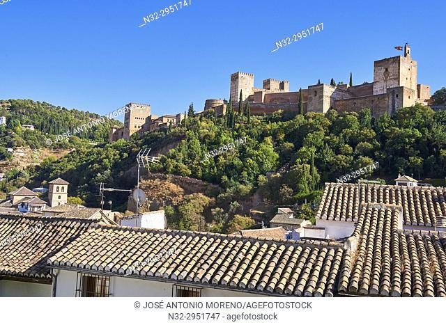 Alhambra, UNESCO World Heritage Site, Granada, Andalusia, Spain