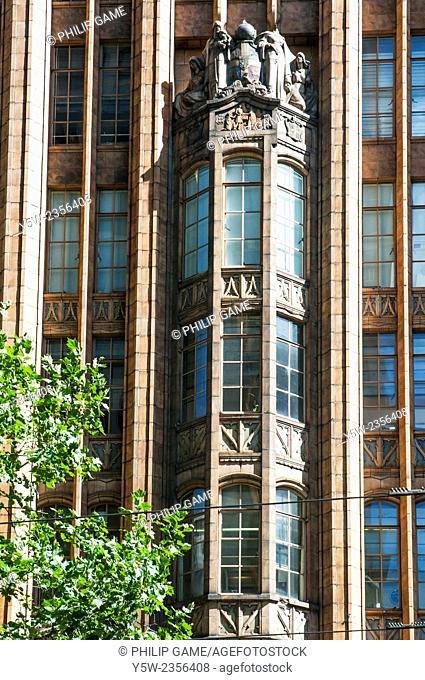 Manchester Unity Building (1932) is a neo gothic skyscraper in Swanston Street, Melbourne, Australia