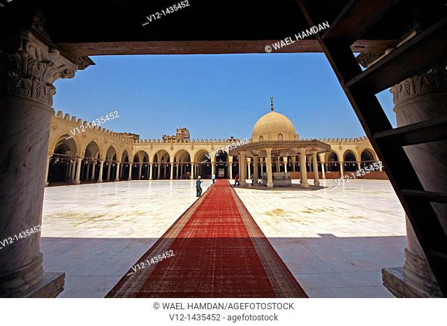 Amr Ibn Al-als mosque, City of Cairo, Egypt